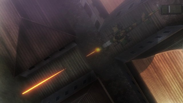 Gate Thus The JSDF Fought There Episode 6: Ancient armor is no match for a heavy machine gun