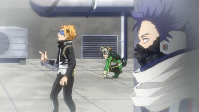 My Hero Academia Season 5 Episode 92: Kaminari/Chargebolt had a good idea!