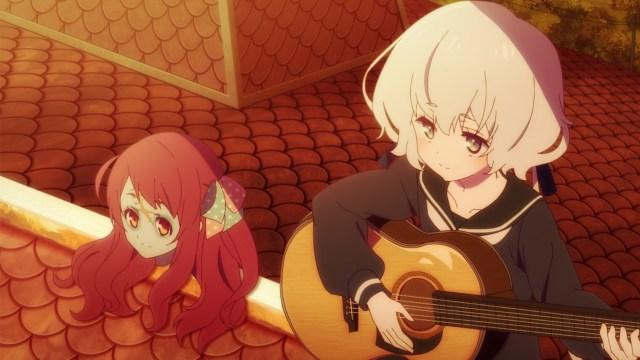 Sakura's head enjoyed Junko's music.