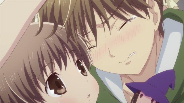 Fruits Basket - The Final Episode 7: Hiro can hug his little sister now.