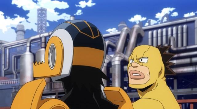 My Hero Academia Season 5 Episode 94: Sugarman asked a good question.