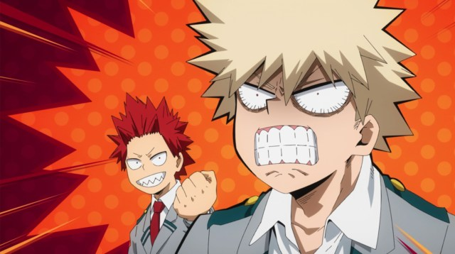My Hero Academia Season 5 Episode 101: Bakugou wasn't happy about being cut out of the interview when it aired