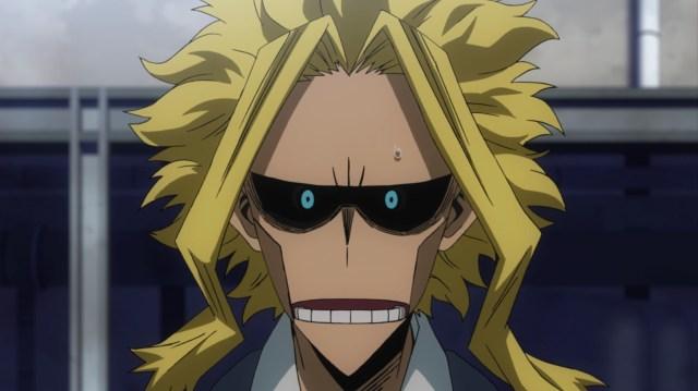 My Hero Academia Season 5 Episode 99: All Might reacted with astonishment when he saw Midoriya level up