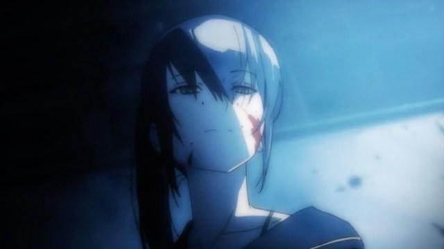 High School of the Dead Episode 9: Even as a middle-schooler, Saeko was dangerous