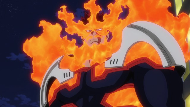 My Hero Academia Season 5 Episode 106: The newer Endeavor projected confidence and resolve
