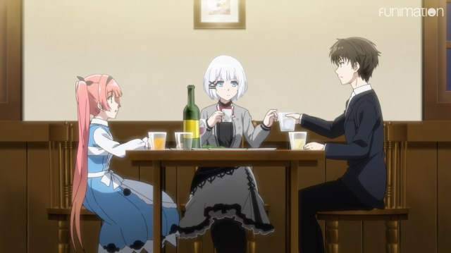 The Detective Is Already Dead Episode 7: Alicia felt weirded out by how in sync Kimihiko and Siesta acted
