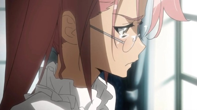High School of the Dead Episode 10: Saya had a hard time processing her feelings