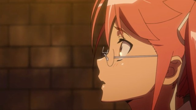 High School of the Dead Episode 12: Souichiro's praise meant the world to Saya