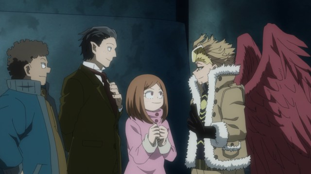 My Hero Academia Season 5 Episode 113: Hawks could interact with villains and heroes alike.