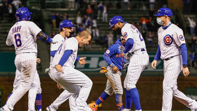 The Cubs Swept the Mets