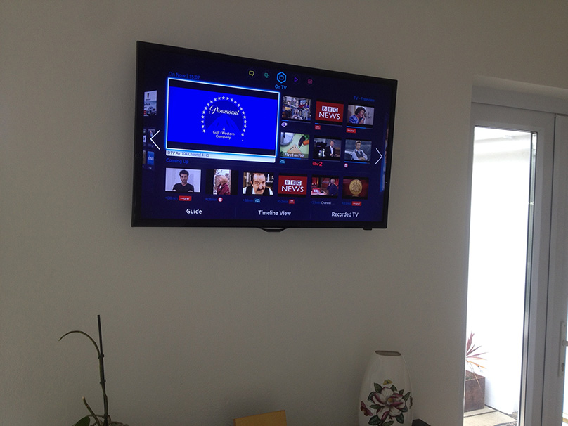 Tv Wall Mounting Croyde Aerials
