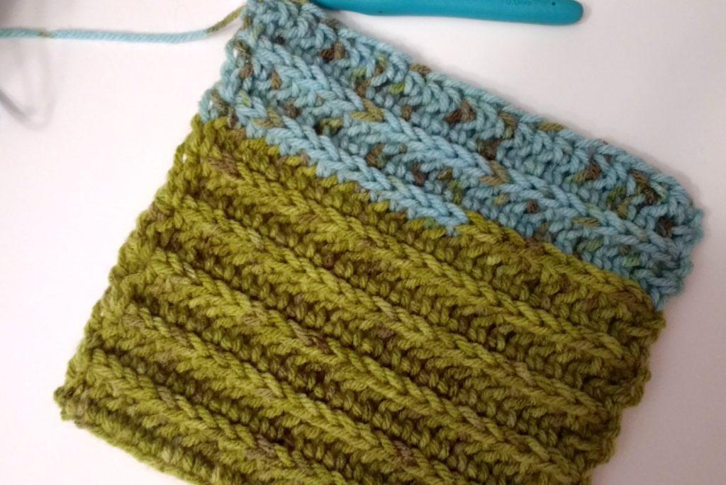 Woodlands Crochet Scarf
