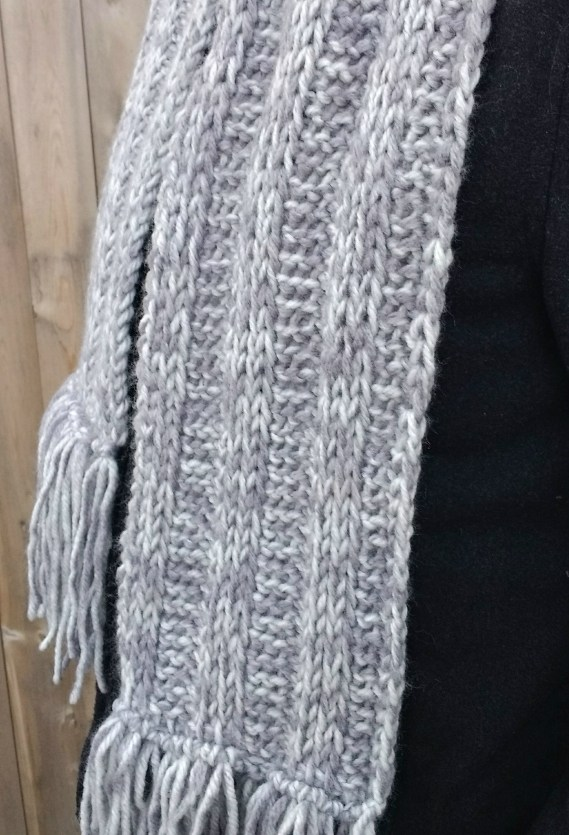 Easy Tunisian Crochet Ribbed Scarf Pattern Stunning Tunisian Crochet Scarf Pattern