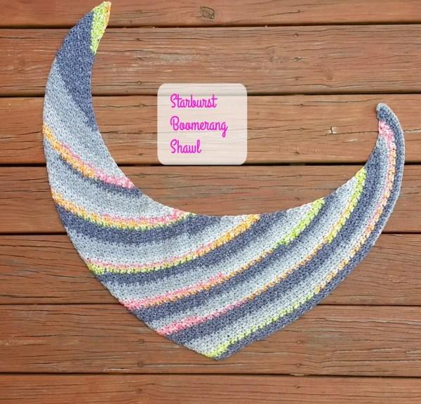Starburst Boomerang Shawl