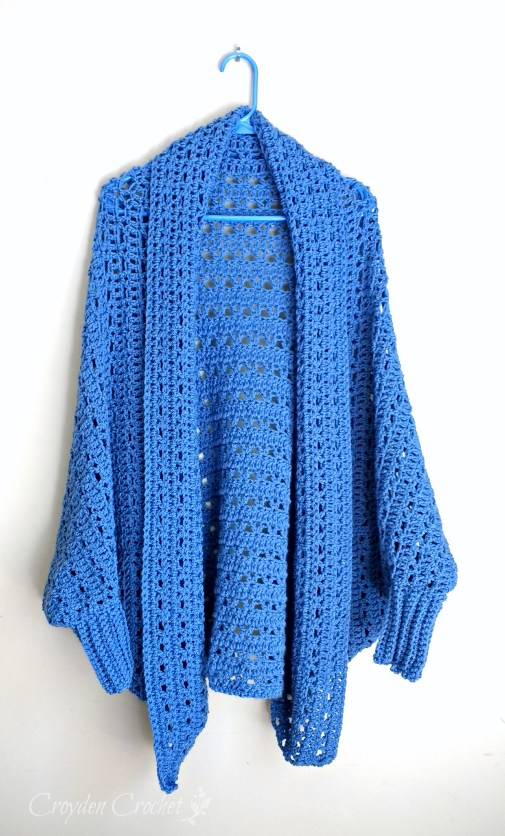 b800b3e38c3cfb Carleton Cocoon Sweater Kit from Craftsy - A Review by Croyden Crochet