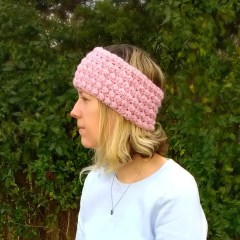 Berry Stitch Ear Warmer