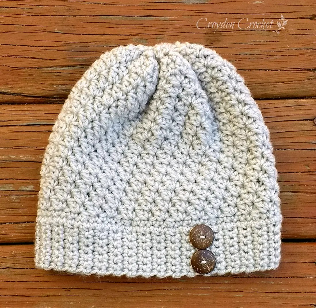 Alabaster Slouch - Croyden Crochet