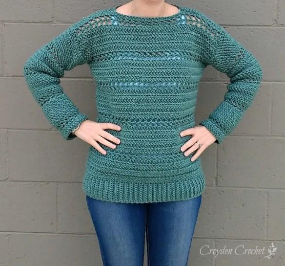 Stone Harbor Crochet Tunic A Free Crochet Pattern By Croyden Crochet