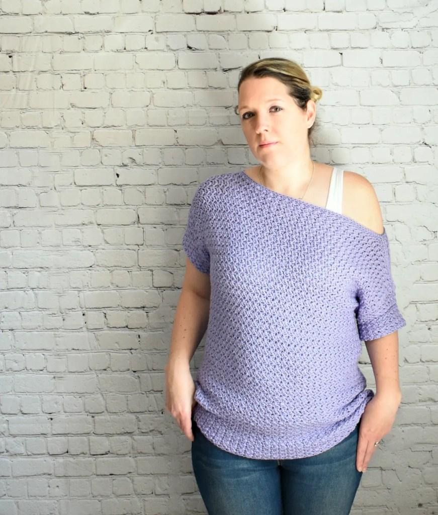 crochet freesia top pattern