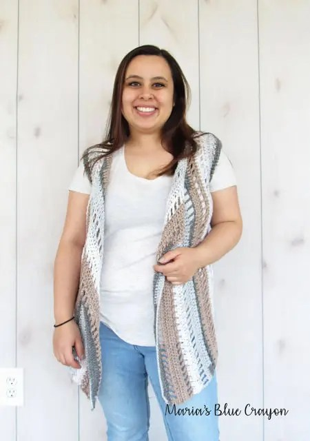 summer crochet vest patterns