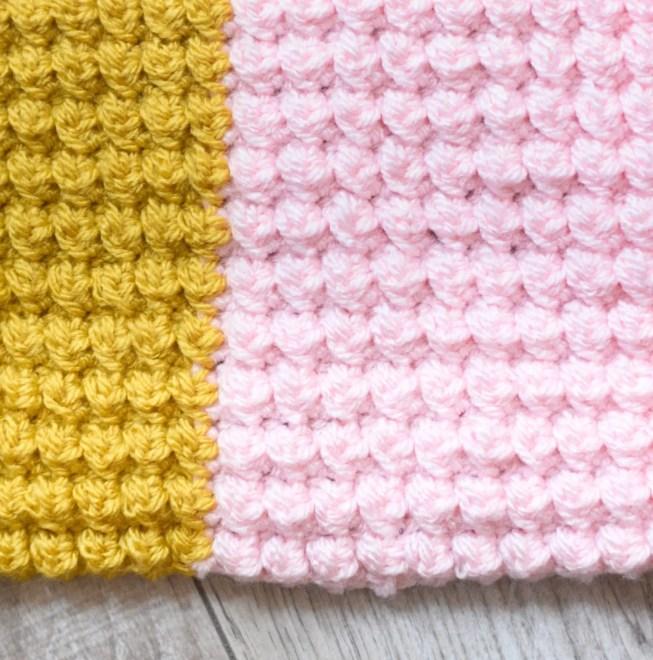 jubilee scarf crochet berry stitch