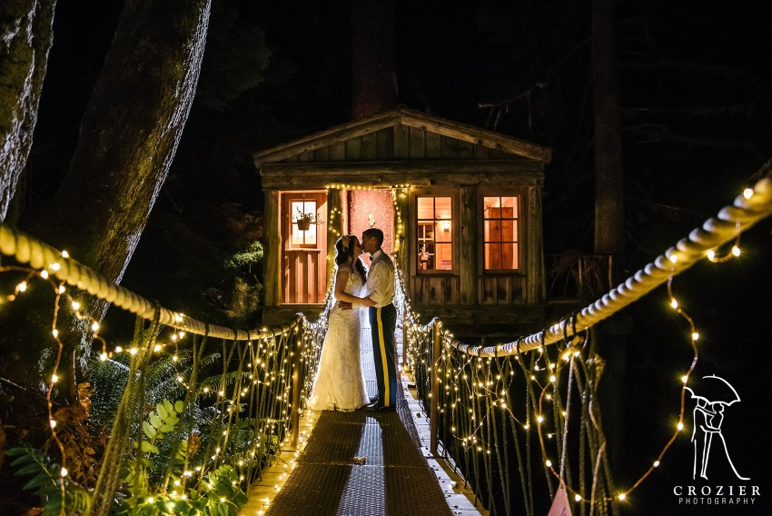 magical night photo at treehouse point
