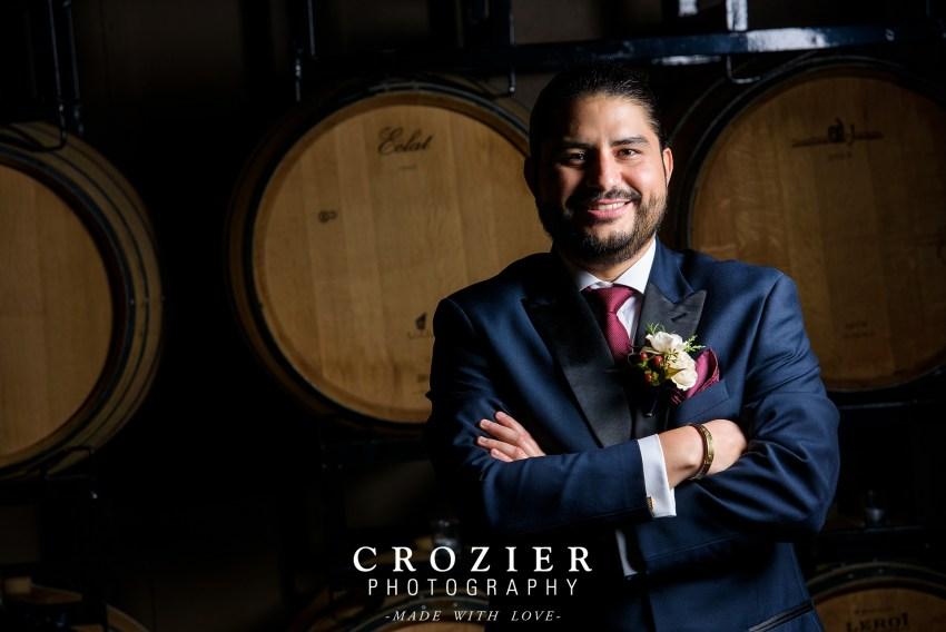 Wine barrel portraits