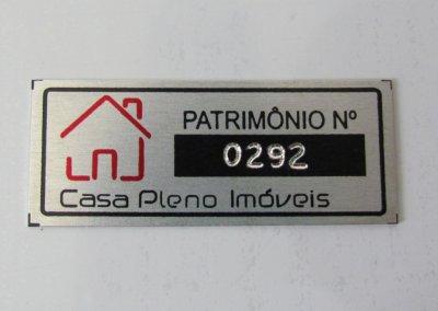 Etiqueta de Patrimônio