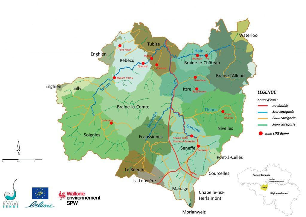 Cartographie ZIT Belini