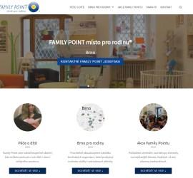 Brněnský Family Point má nový web
