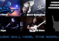 Music Will heal the world (Alberto Rigoni, Marco Minnemann, Jared Dines & Gerald Peter)