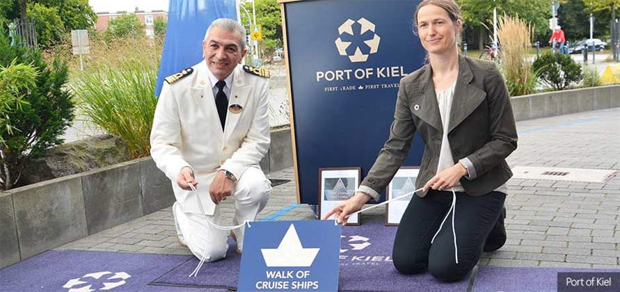 Port of Kiel chalks up 350th call by an MSC cruise ship