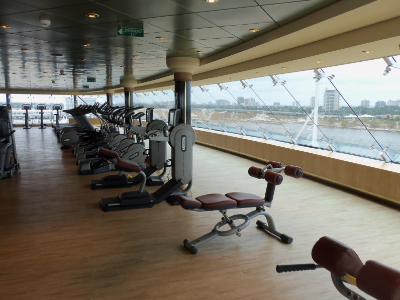 MSC Aurea Spa fitness center