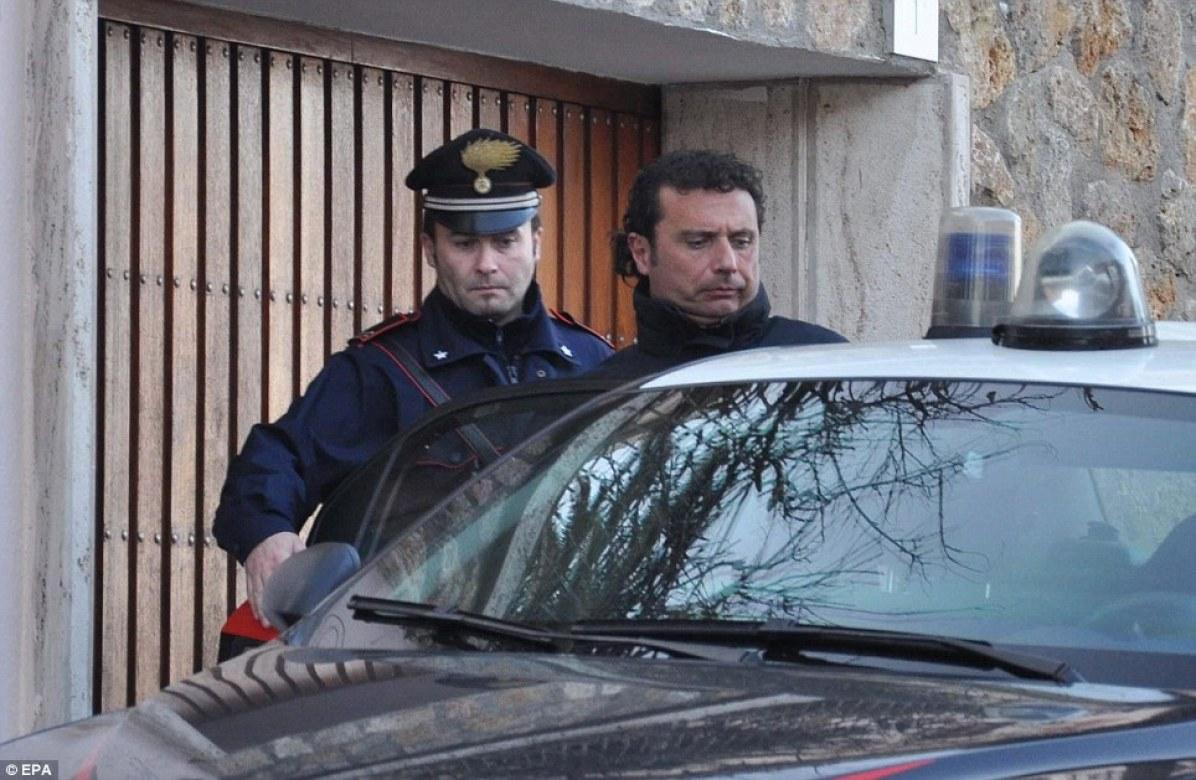arrested captain