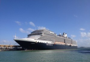 Eurodam docked in San Juan