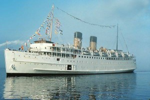 Princess' first ship, Princess Patricia.