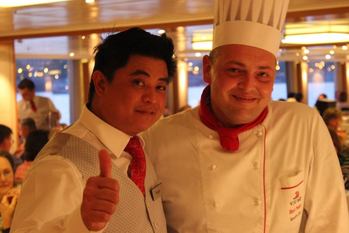 Roger and Chef Slavi.
