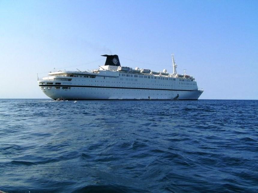 2021-01-08-StarShip_Atlantic__-_Nassau_1989 Vor 40 Jahren: Stapellauf der ATLANTIC