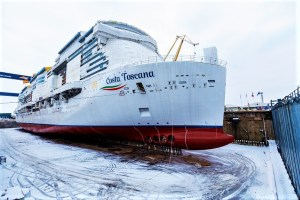 COSTA TOSCANA at Meyer Turku shipyard