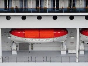 COSTA VICTORIA - Rettungsboot