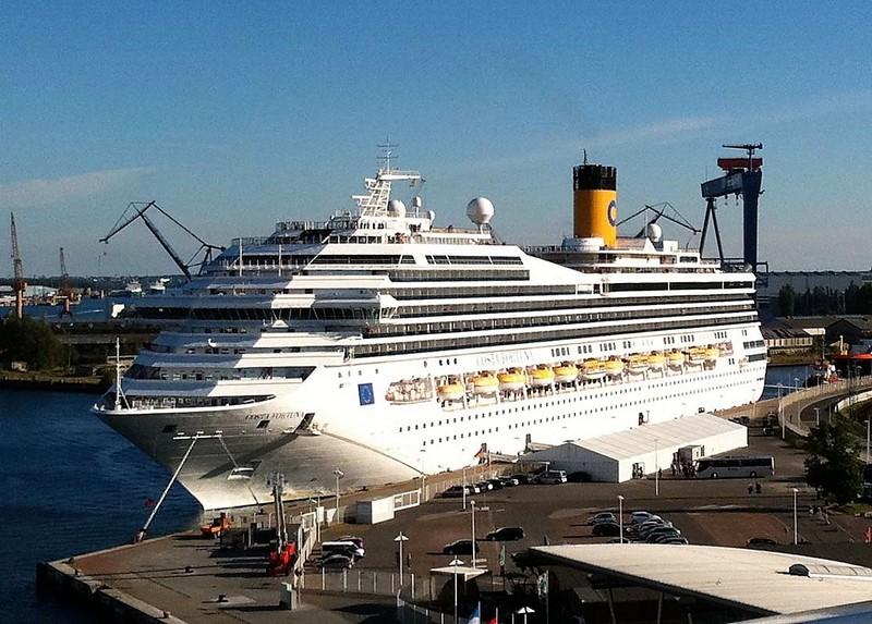 Costa-Fortuna-007 COSTA MEDITERRANEA bringt Crew-Mitglieder nach Hause