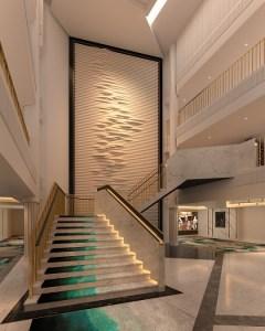 SPIRIT OF ADVENTURE - Foyer Staircase