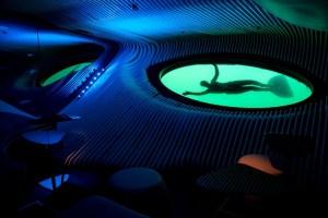 LE LAPEROUSE geatuft - Unterwasser-Lounge Blue Eye