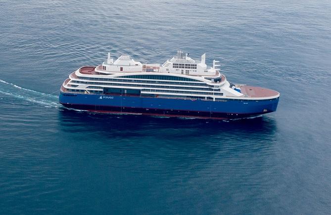 N°-71_Drone-AUSTRAL_Sisterships-et-Cdt-Charcot_Gibraltar©Sacha-Lalane-Kopie-2-1 Spektakulärer Kreuzfahrt-Eisbrecher in Frankreich eingetroffen