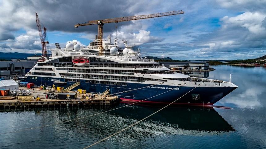 PONANT-Le-Jacques-Cartier-in-norwegischer-Werft-©Studio-Ponant-Fred-Michel Update: Neue Fotos von LE JACQUES CARTIER