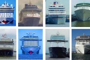 Schiffe von vorn