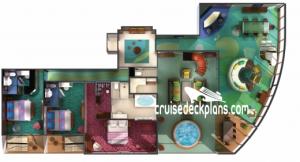 Norwegian Jewel Deck Plans, Diagrams, Pictures, Video