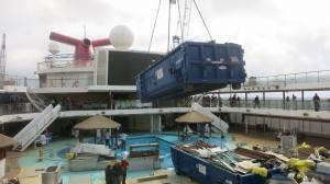 Carnival Magic Dry Dock