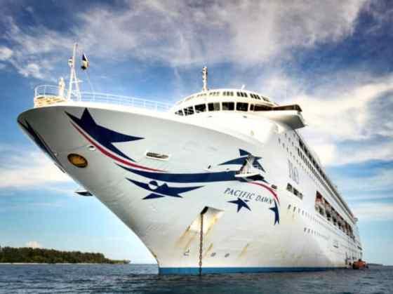 Pacific Cruise Ship