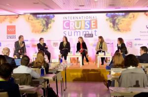 Panelists at ICS in Madrid